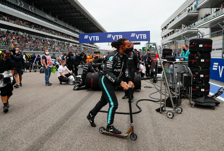 Lewis Hamilton y sus números insuperables en F1