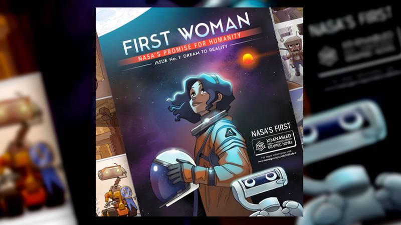 ¡Vamos a la Luna! NASA publica su primera novela gráfica interactiva