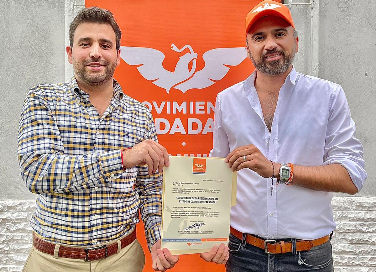 Nombran a Gerardo Almaraz coordinador del partido de la Región Centro