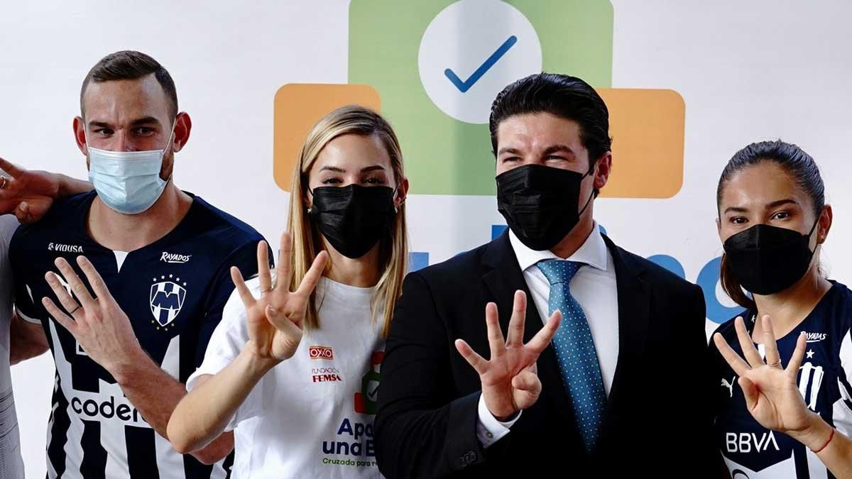 Samuel García donará su sueldo de gobernador a causas benéficas