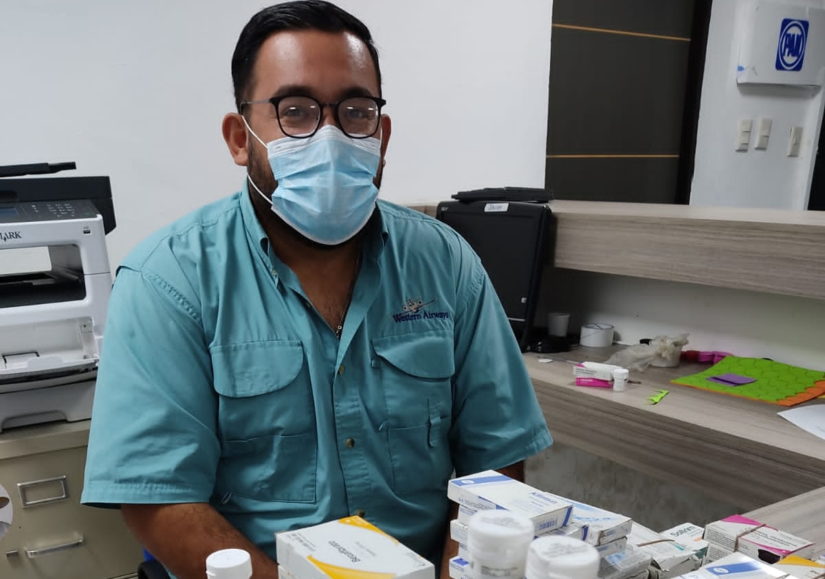PAN arrancó el programa 'farmacia azul' para personas necesitadas