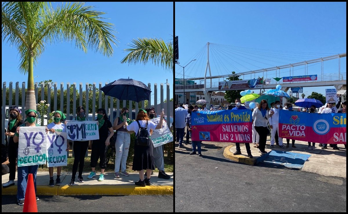 Congreso de Sinaloa suspenden discusión de despenalización del aborto