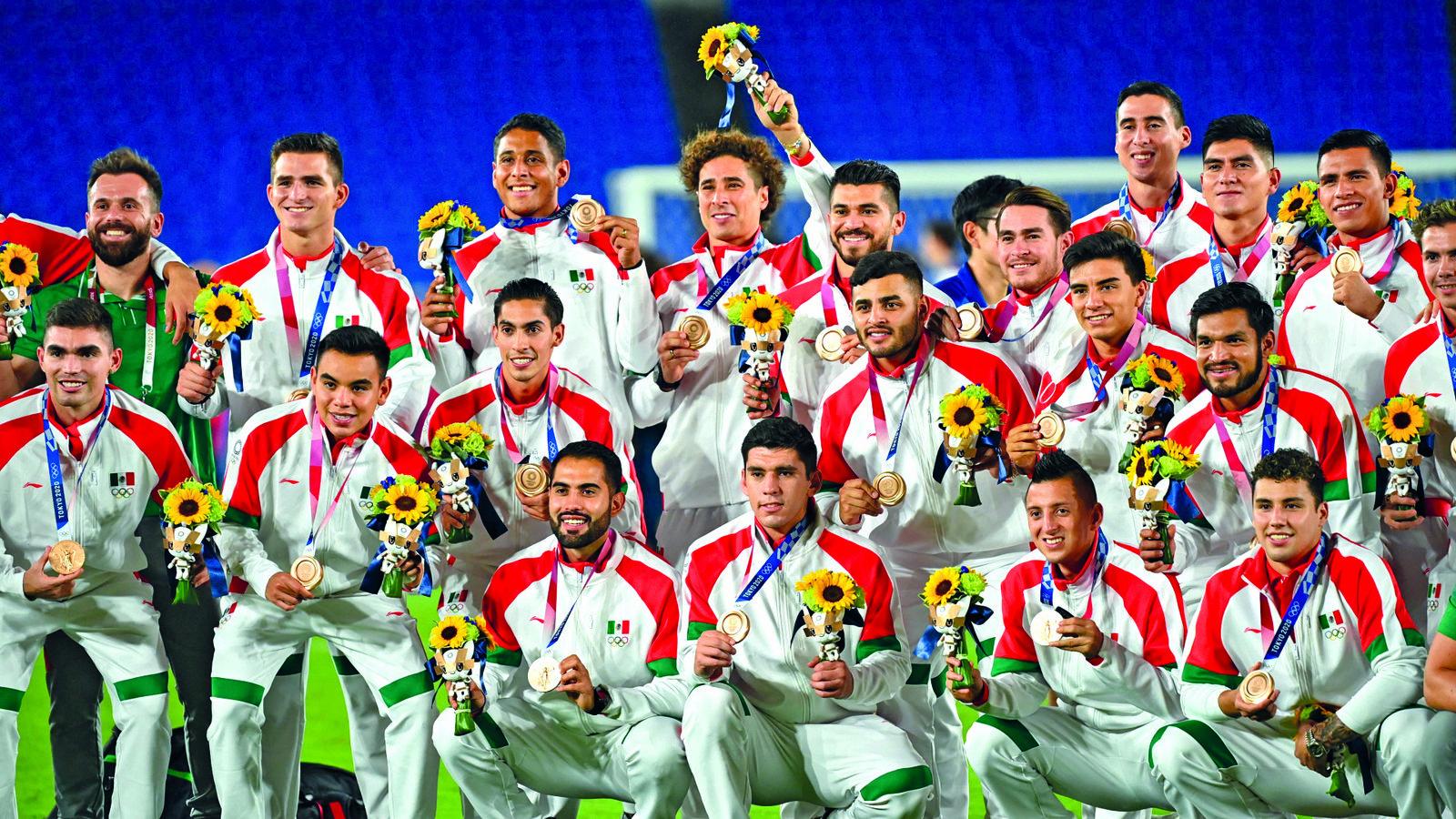 Los Olímpicos recibirán siete millones por medalla de bronce