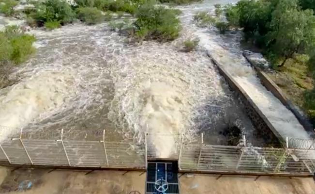 Tequisquiapan vuelve a tomar precauciones ante desfogue de presa