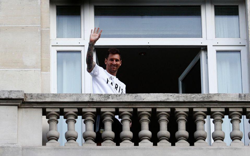 Hotel donde se hospeda Messi en París es asaltado