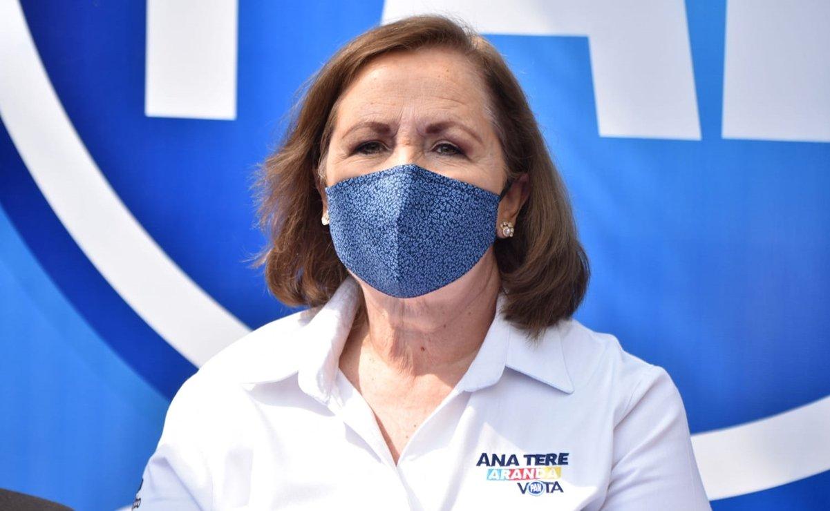 Diputada Ana Teresa Aranda busca dirigencia del PAN en Puebla