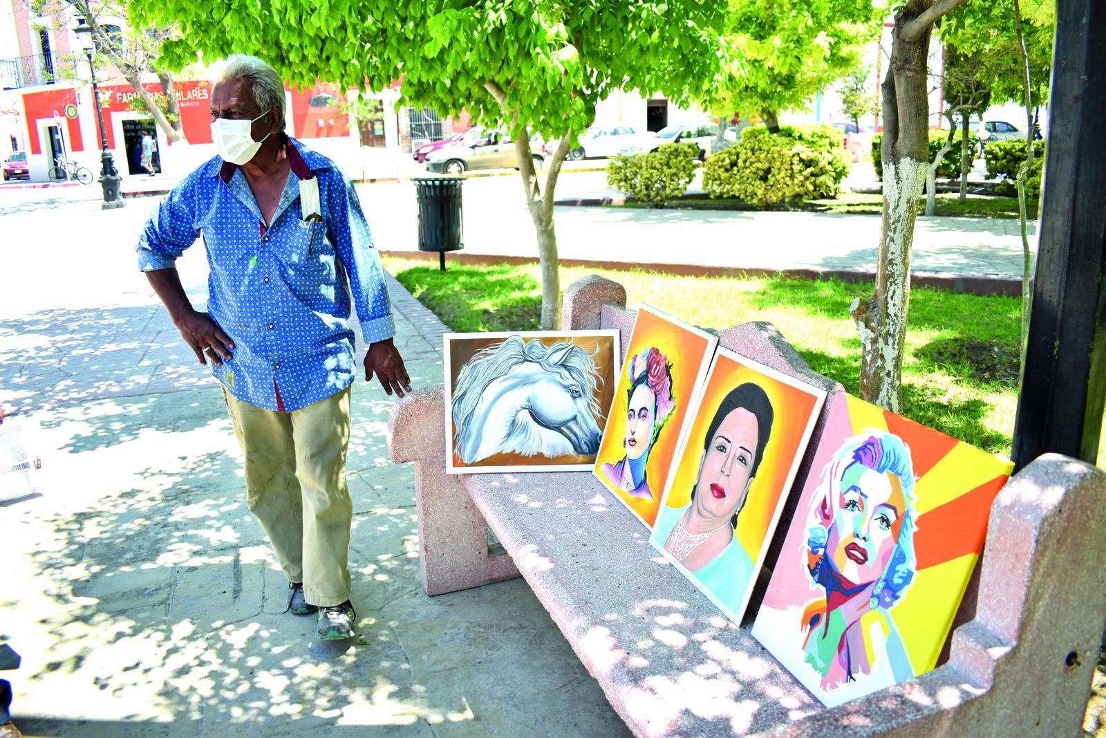 En el arte de la pintura encontró el verdadero amor en Cuatro Ciénegas