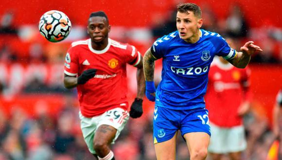 Manchester United vs Everton de la Premier League 2021-2022: vídeo y goles del partido
