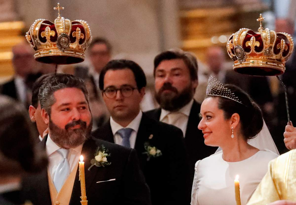 Se realiza la primera boda de la realeza rusa en 100 años