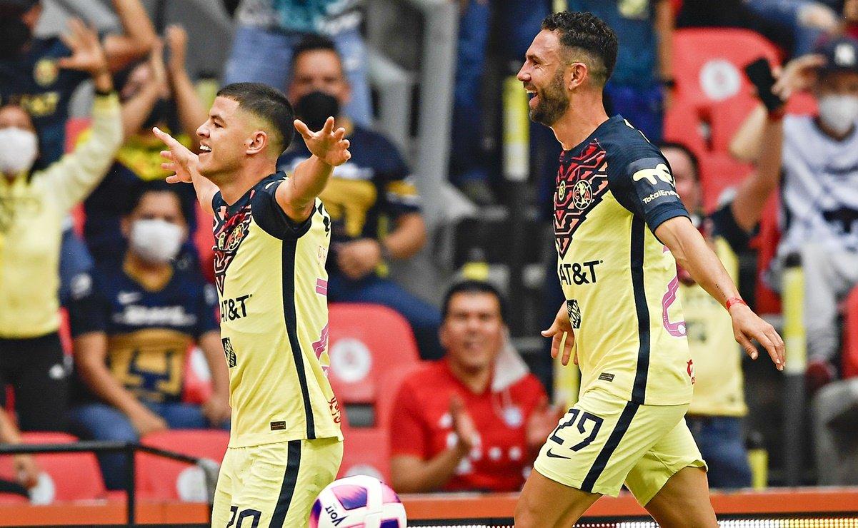 América derrota con autoridad a los Pumas 2-0