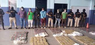 Decomisan en Honduras 108 kilos de cocaína y detienen a cinco personas