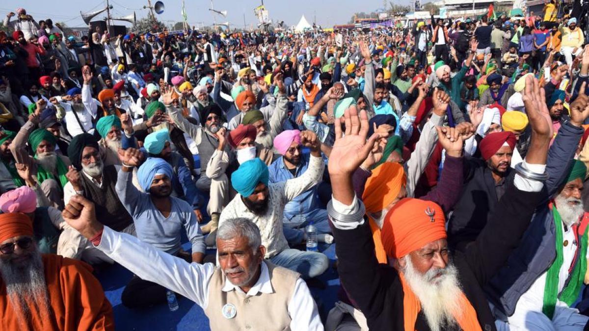 Manifestaciones y tensión en India tras una protesta campesina con 8 muertos