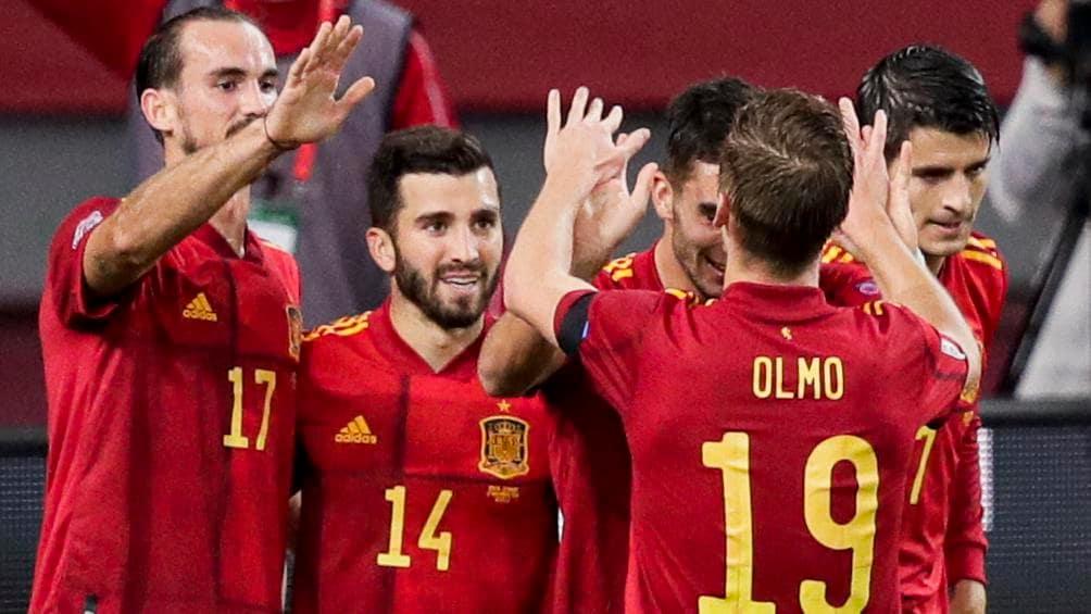 28 Jugadores y ocho goleadores, así llegó España a la fase final