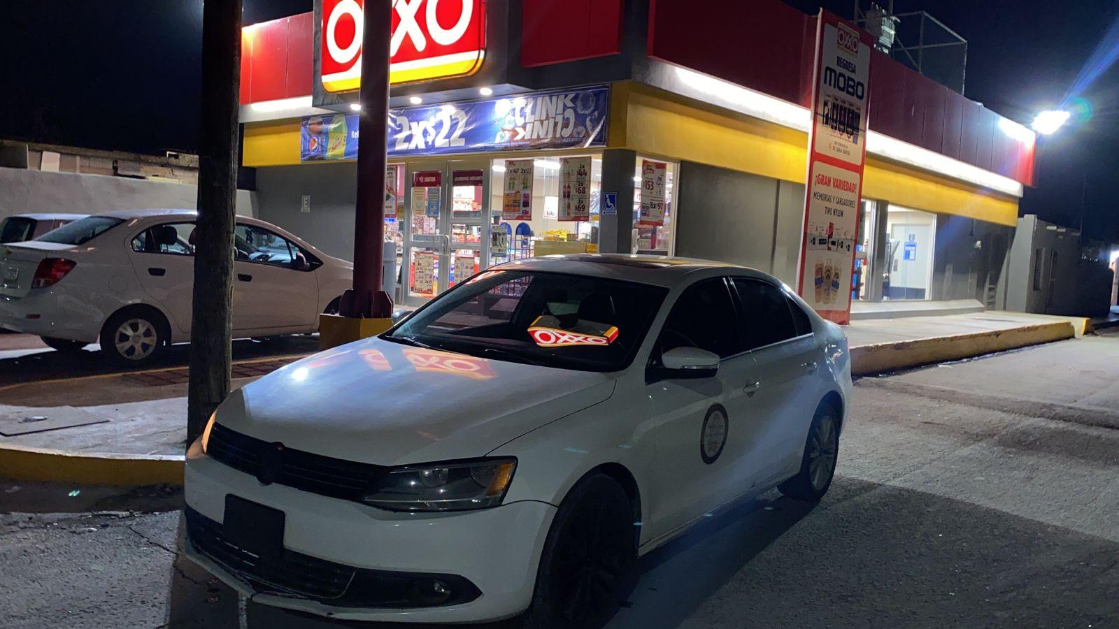 Un ladrón asalta con escopeta una tienda OXXO en Monclova