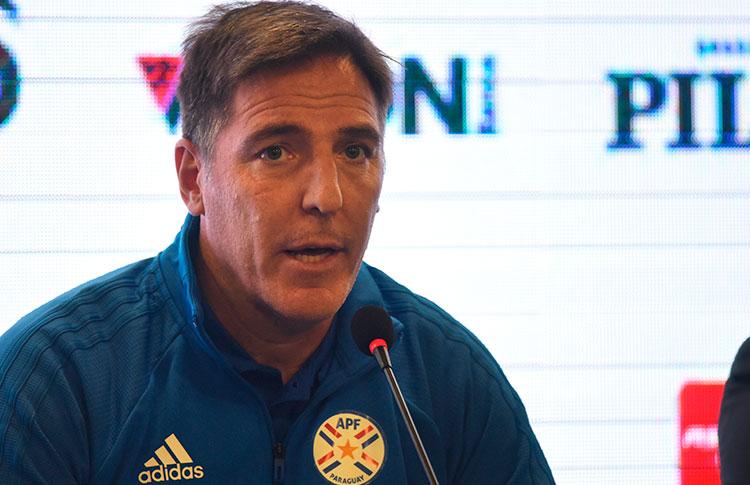 Berizzo apuesta por un juego vertical y de presión para doblegar a Argentina