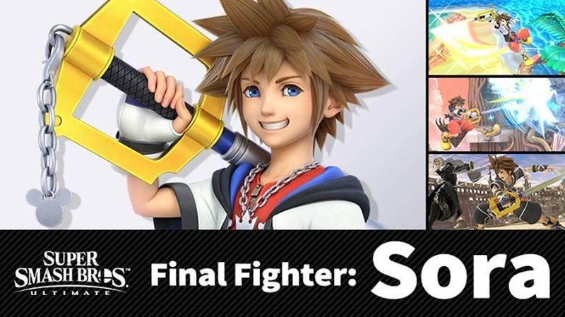Revelan al último personaje en 'entrarle' al 'Super Smash Bros. Ultimate': Sora, de 'Kingdom Hearts'