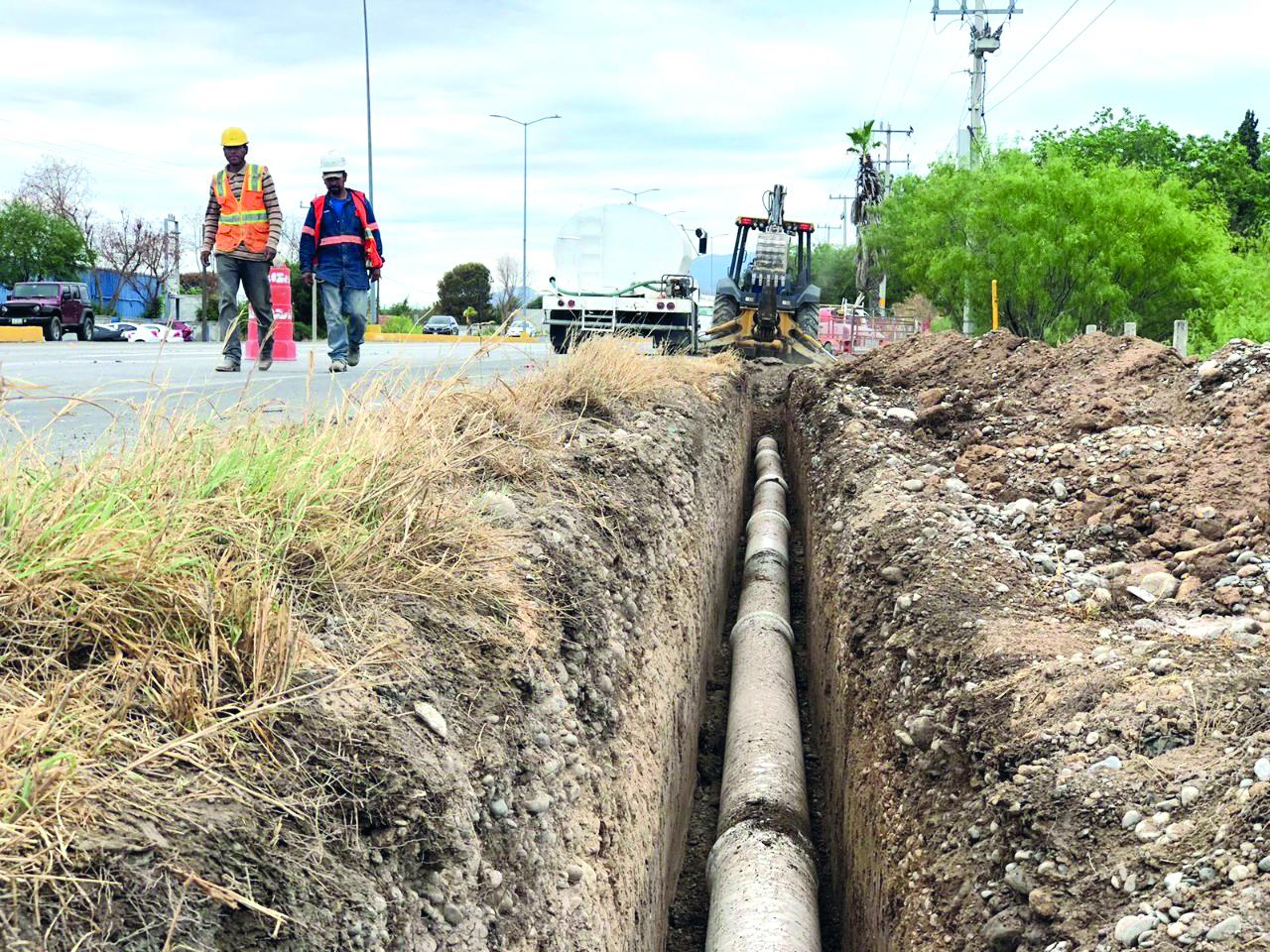 El anillo periférico para el agua en Monclova tiene avance del 98%