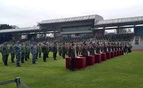 Condecoran a militares que participaron en jornada de vacunación