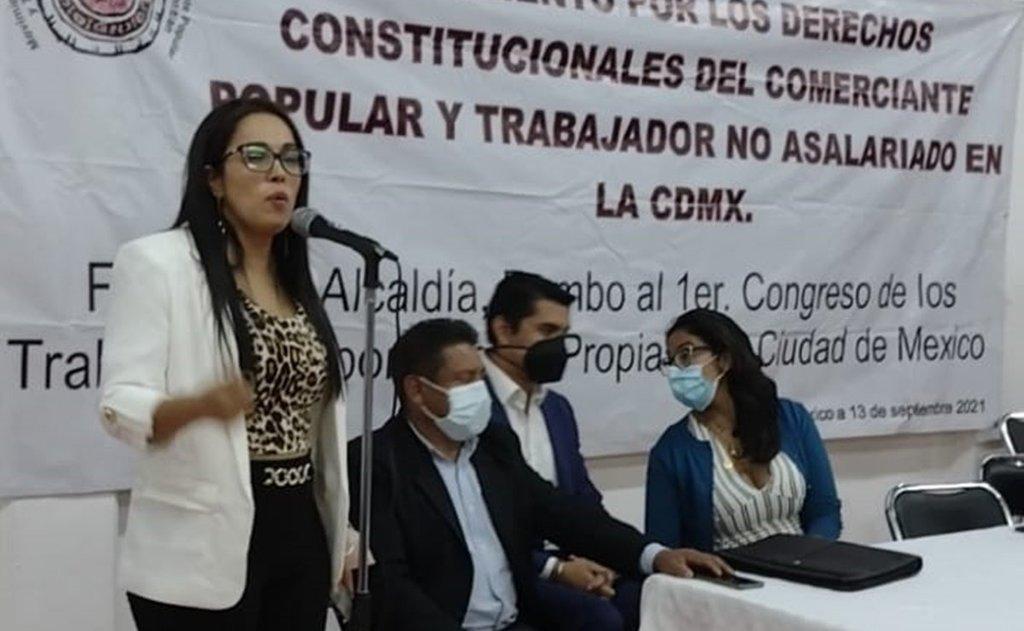 Sánchez Barrios va por ley que proteja derechos de comerciantes