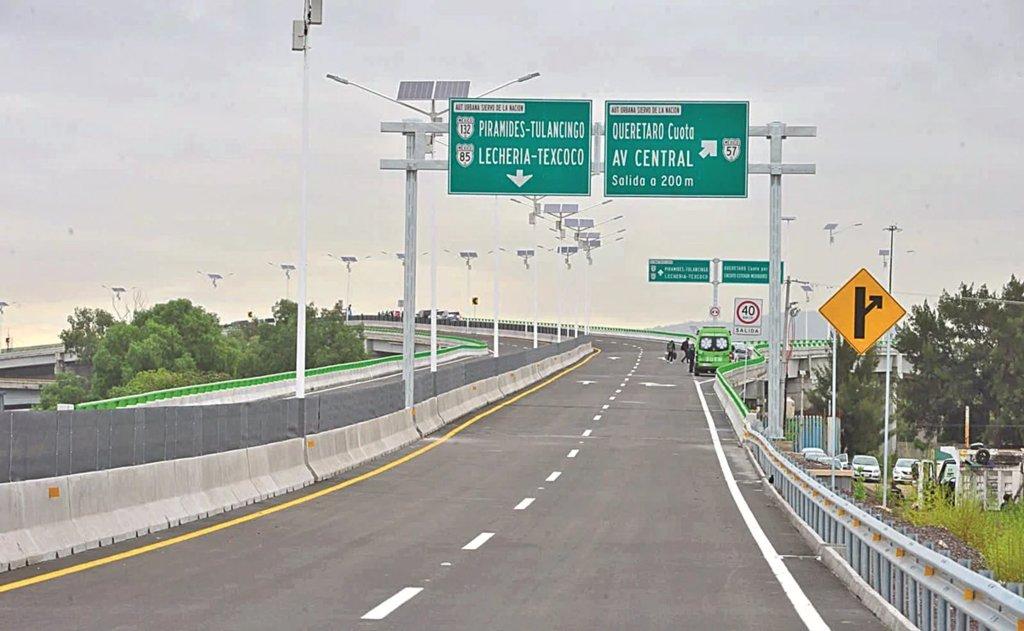 Inauguran autopista Siervo de la Nación en Edomex