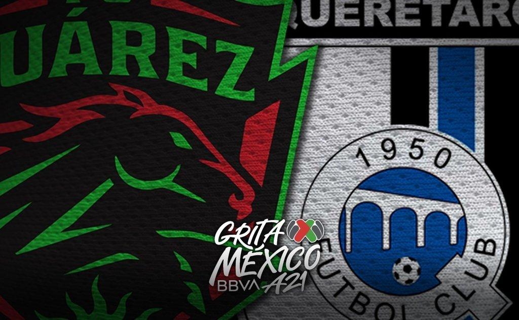 Juárez y Querétaro disputan partido pendiente de la Jornada 10