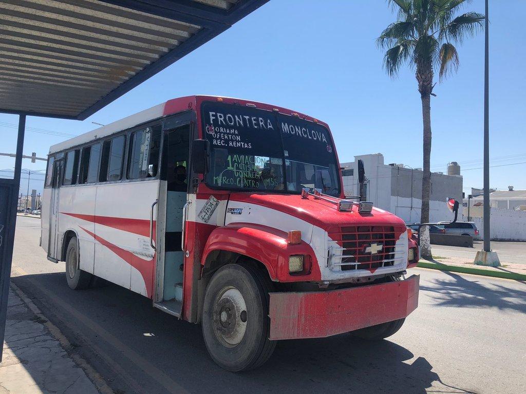 El transporte público: enemigo del ambiente en Monclova