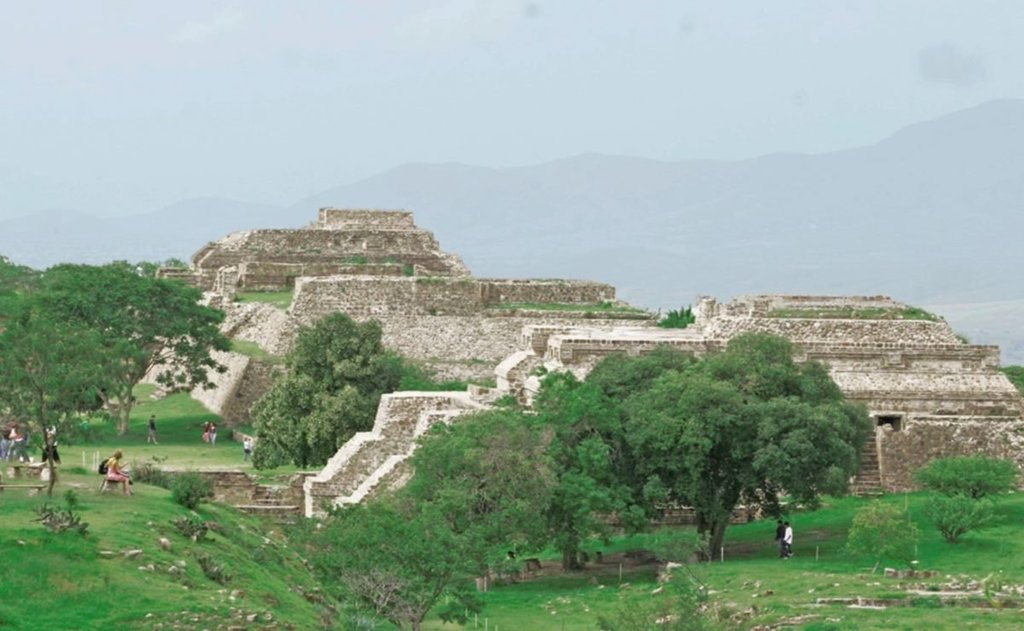 Monte Albán, una opción para visitar Oaxaca en pandemia