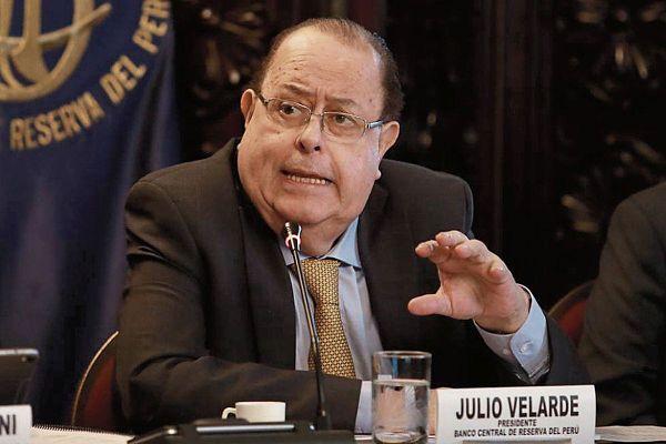 Julio Velarde seguirá al frente del Banco Central de Reserva de Perú