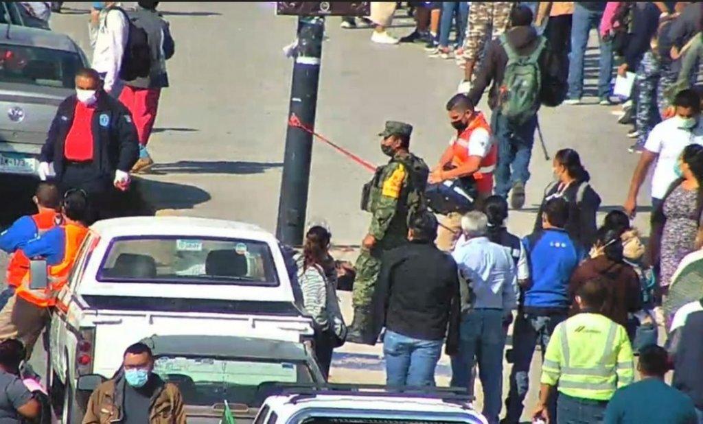 Muere hombre afuera de la Feria Nacional Potosina