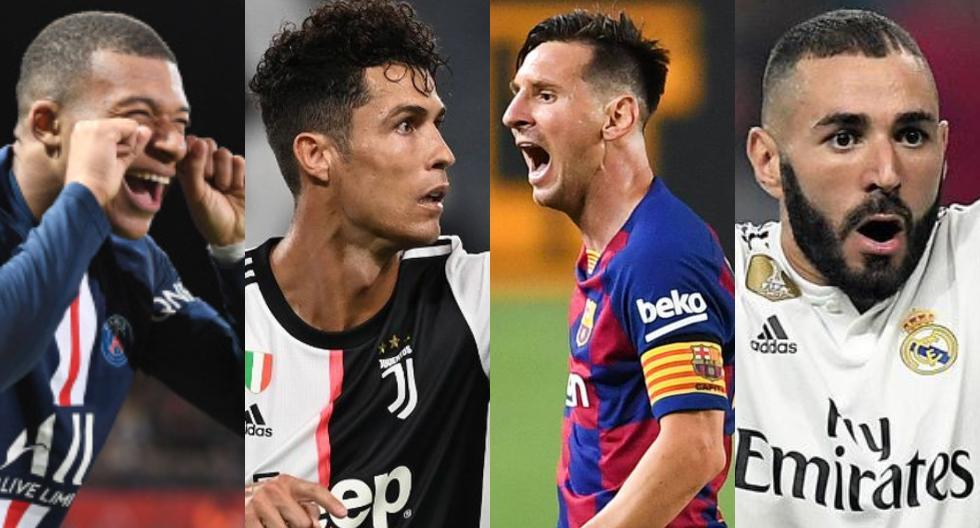 Benzema, Mbappé, Messi y Ronaldo entre los nominados al Balón de Oro