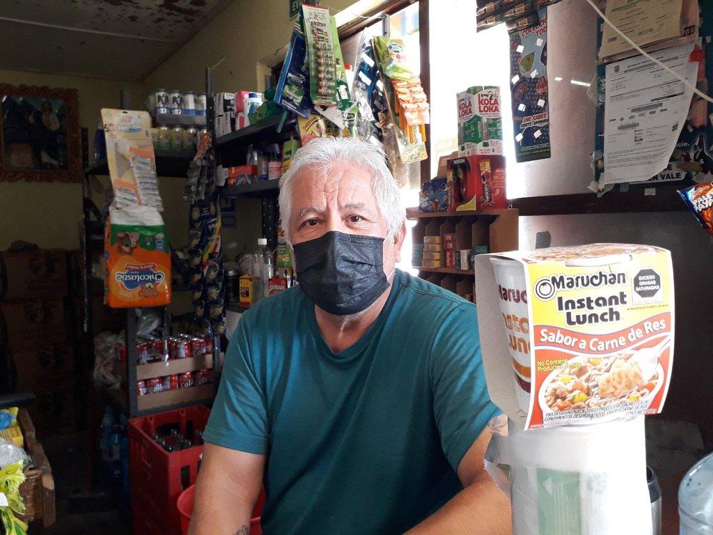 Las sopas instantáneas se venden como 'pan caliente' en Nueva Rosita