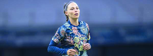 La jugadora del América Janelly Frías comenta haber recibido abuso