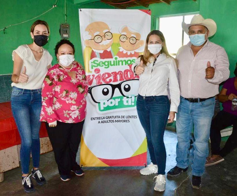 La senadora Verónica Martínez y la diputada Cristina Amezcua lanzan programa en Piedras Negras