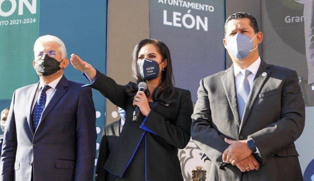 Toma protesta nueva alcaldesa de León