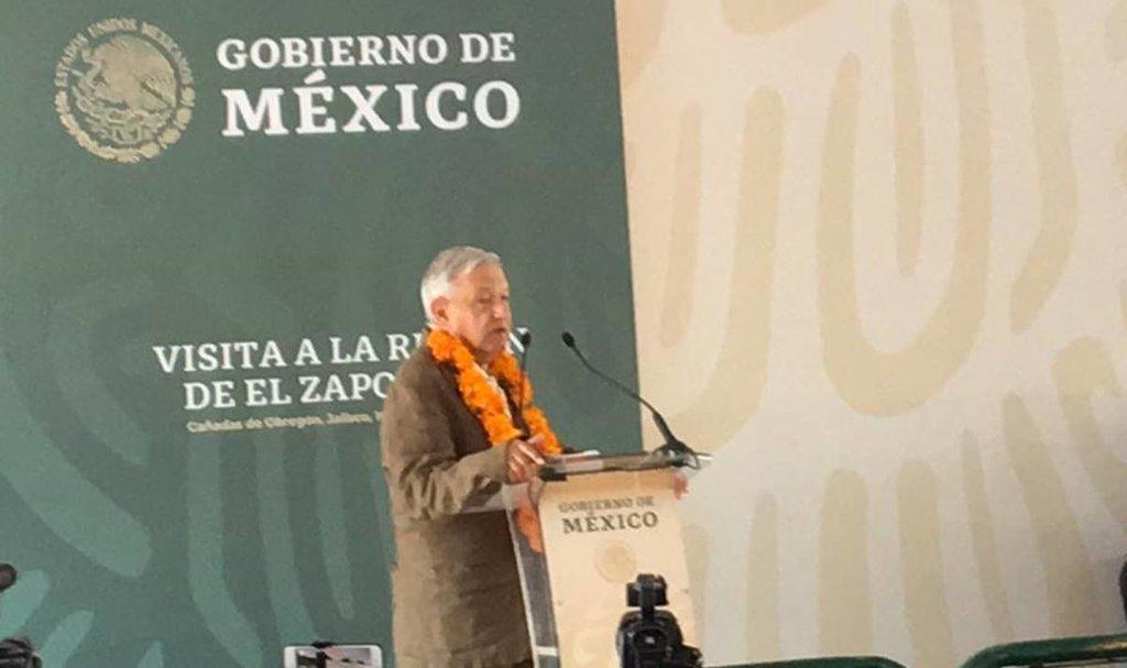 Abuchean en evento de AMLO en Jalisco