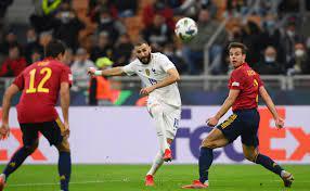 Benzema hace golazo en la final de la UEFA Nations League