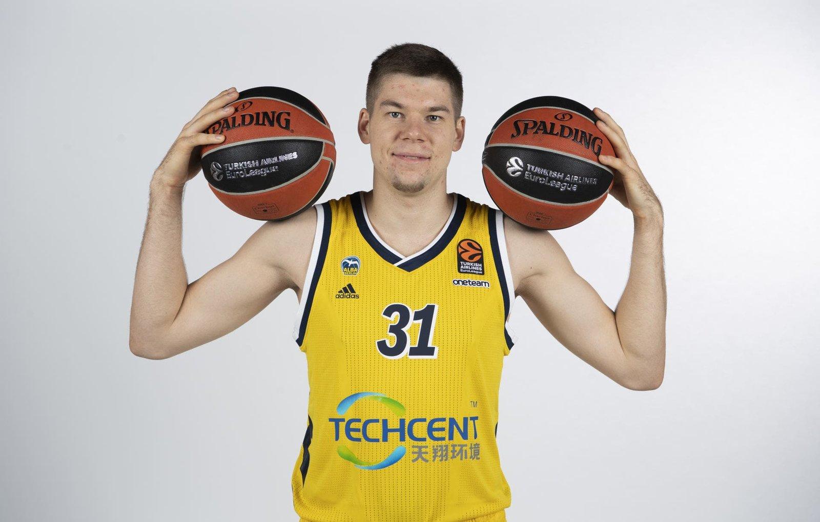 Giedraitis, elegido Jugador de la Jornada por segunda vez en su carrera