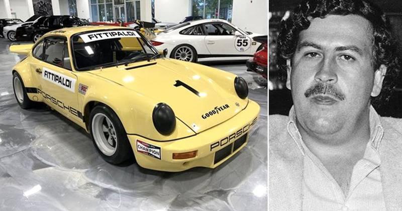 Uno en un millón: el Porsche de Pablo Escobar será puesto en venta