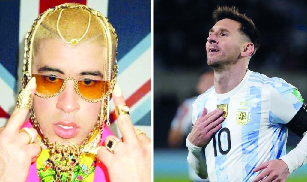 Bad Bunny narra anuncio dedicado a Messi, el comercial dura 30 segundos