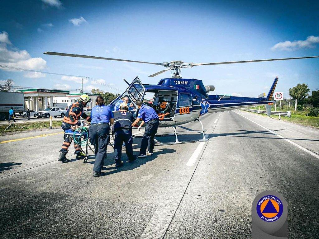 Reportan accidente en la carretera 57, a la altura de El Colorado