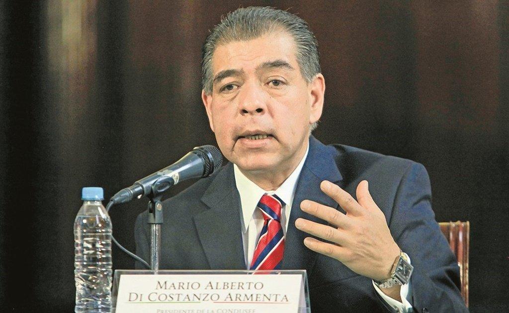 Con Régimen de Confianza se recaudará menos: Mario Di Costanzo