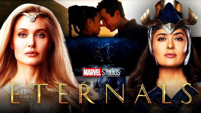 Marvel revela nuevos pósters y tráiler de 'Eternals'