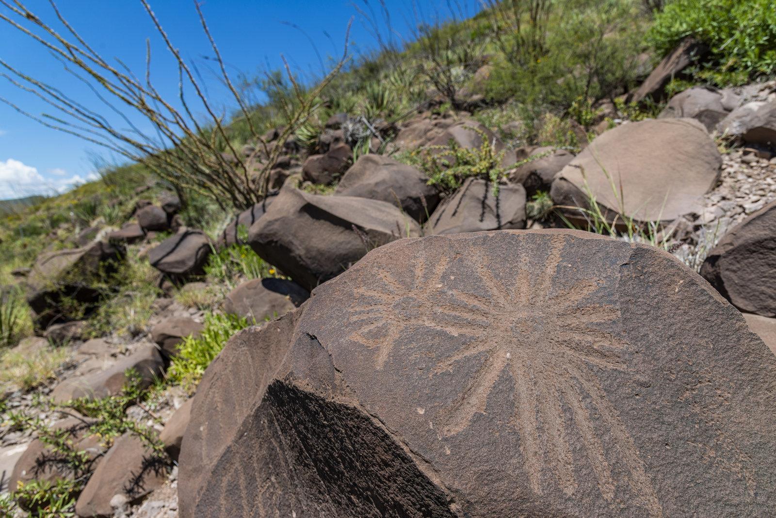 Narigua: petroglifos en el olvido y son parte de Coahuila