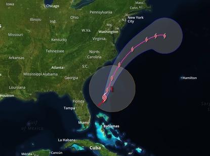 'Pamela' pasará sobre el norte de Coahuila y sur de Texas la noche del miércoles como depresión tropical