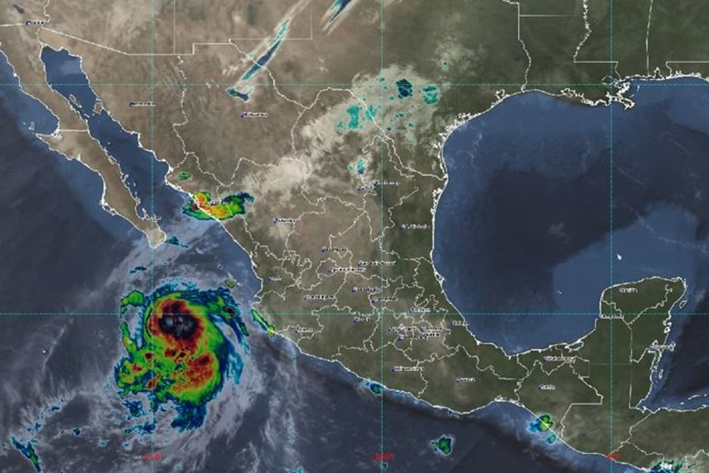 'Pamela' se debilita a tormenta tropical; volverá a ser huracán categoría 1 esta noche