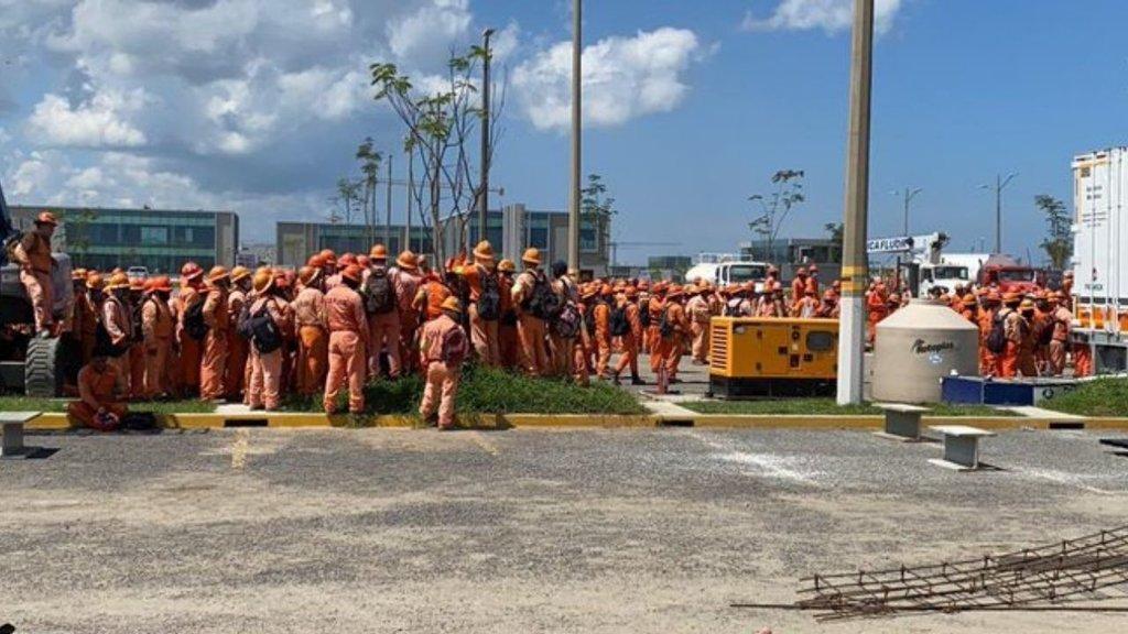 La refinería de Dos Bocas detenida por paro laboral