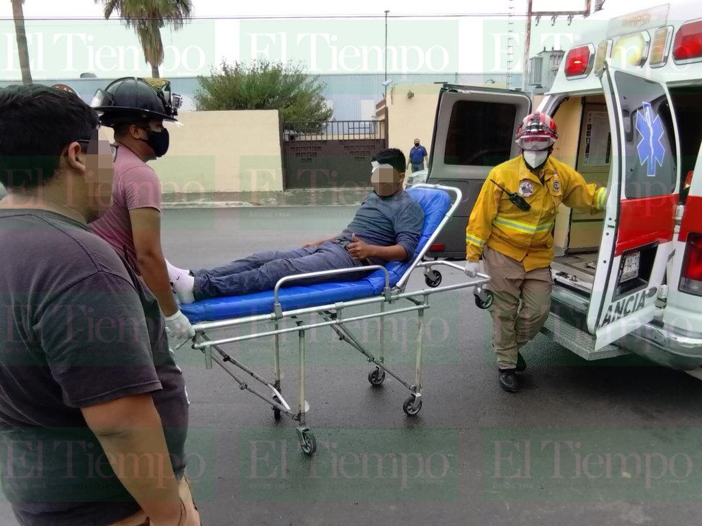 Un joven de Frontera fue atropellado por una camioneta que lo dejó tendido sobre el pavimento