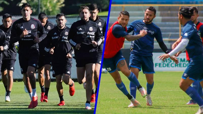 ¿Dónde y cuándo ver el partido de El Salvador vs México?