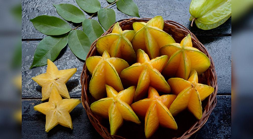 El carambolo o fruta estrella tiene estos beneficios para tu salud