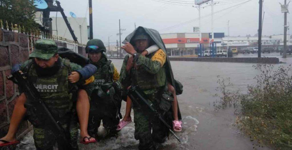 'Pamela' se degrada a depresión tropical; reportan afectaciones en Durango